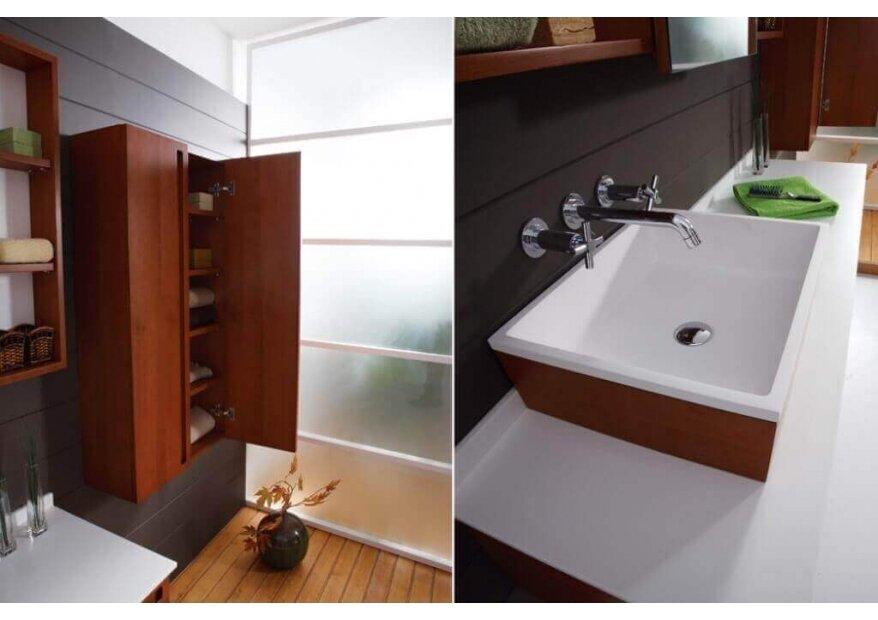 ארון אמבטיה דגם Aqua