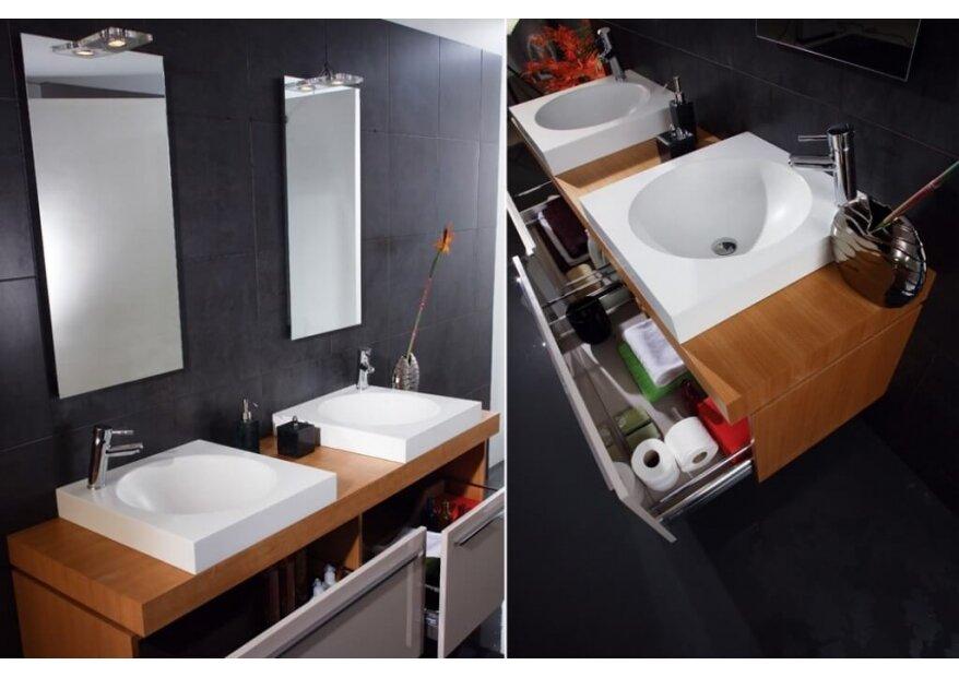 ארון אמבטיה יוקרתי דגם LAND
