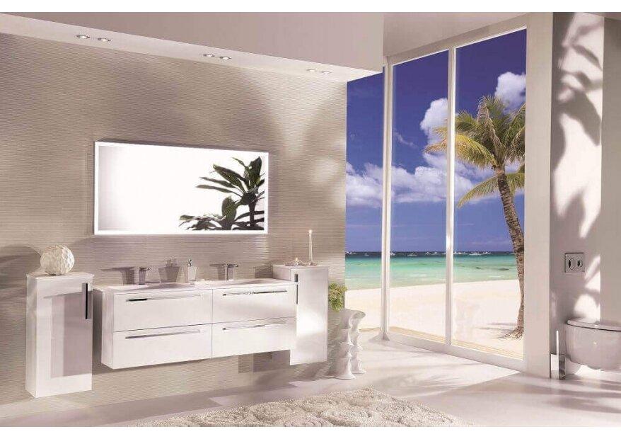 ארון אמבטיה יוקרתי דגם acqua flat