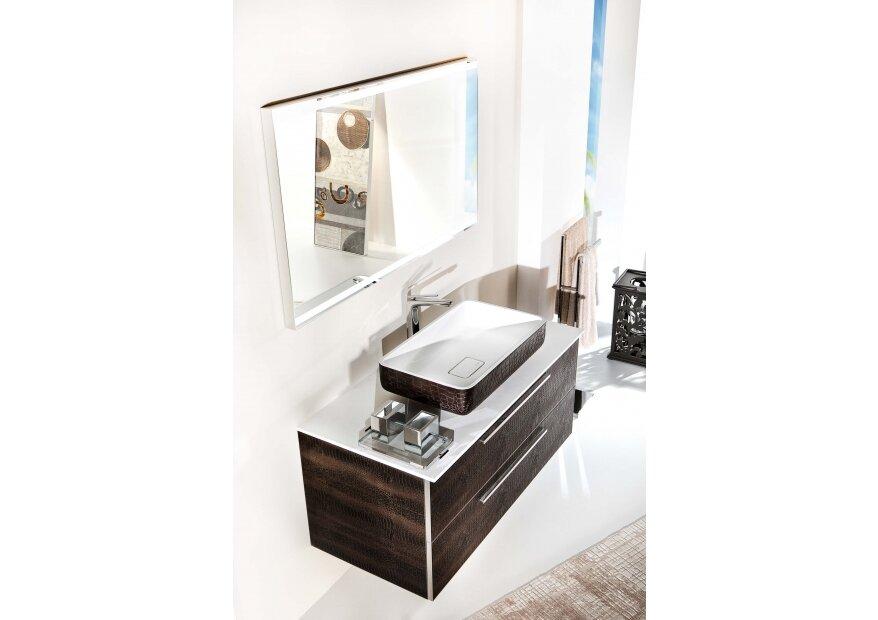 ארון אמבטיה לבן ACQUA FLAT