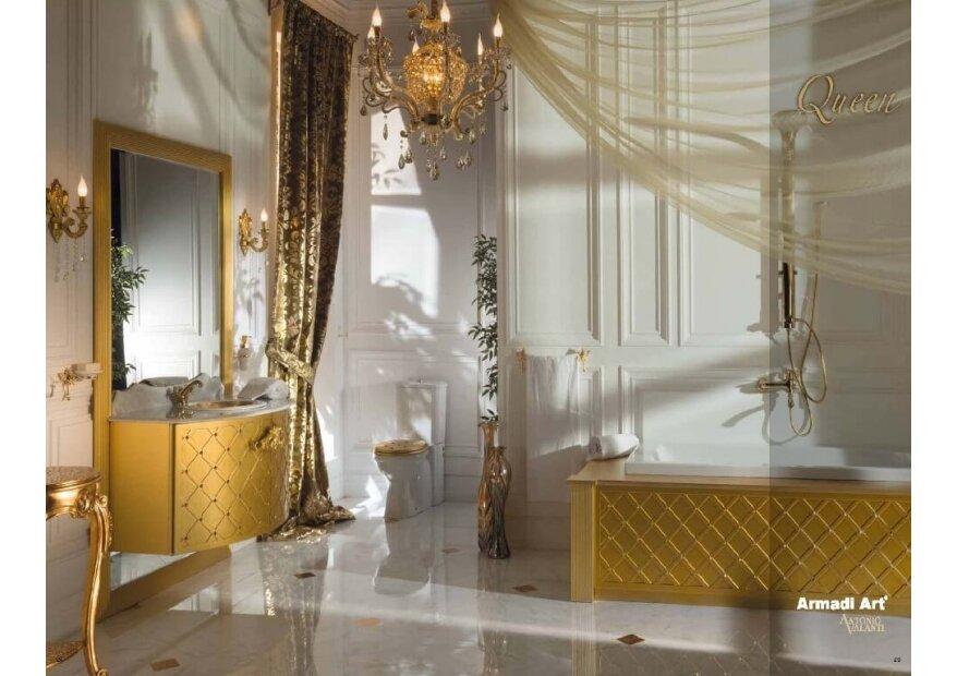 ארון אמבטיה מעוצב ויוקרתי Queen