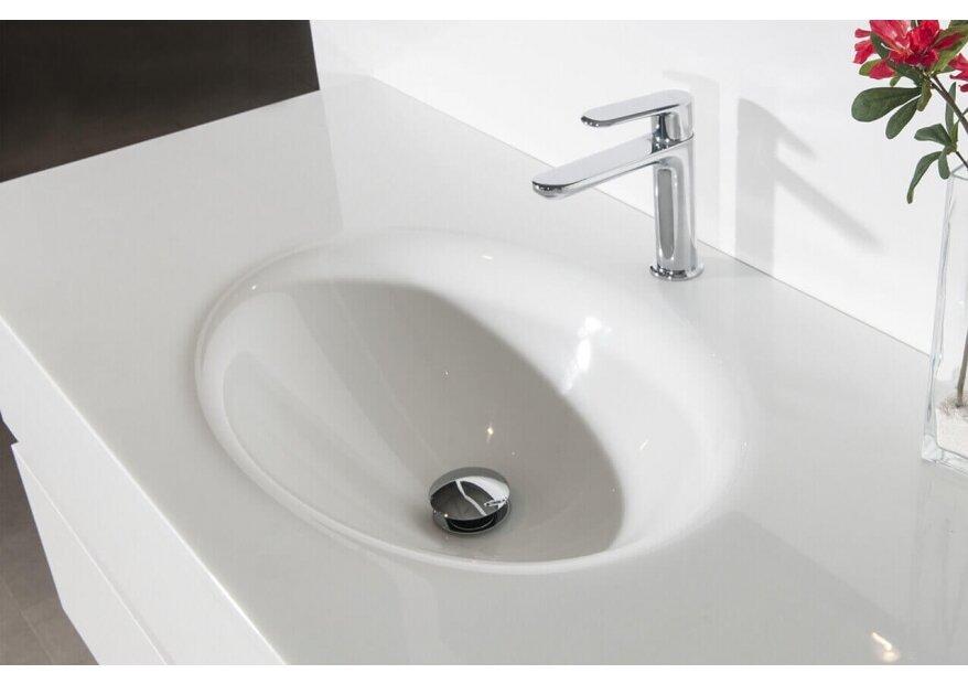ארון אמבטיה עץ אלון דגם אנג'ל