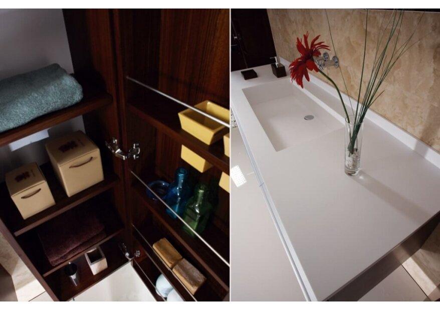 ארון אמבטיה תלוי PLAIN יוקרתי