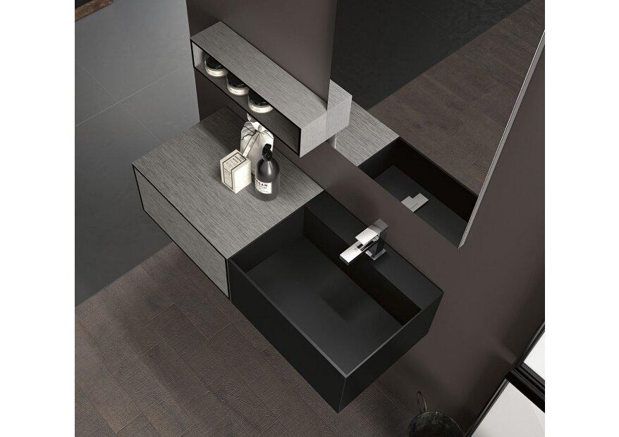 ארון אמבטיה 100 סמ  CUBIK 03