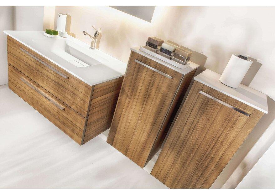ארון אמבטיה ACQUA FLAT WOOD