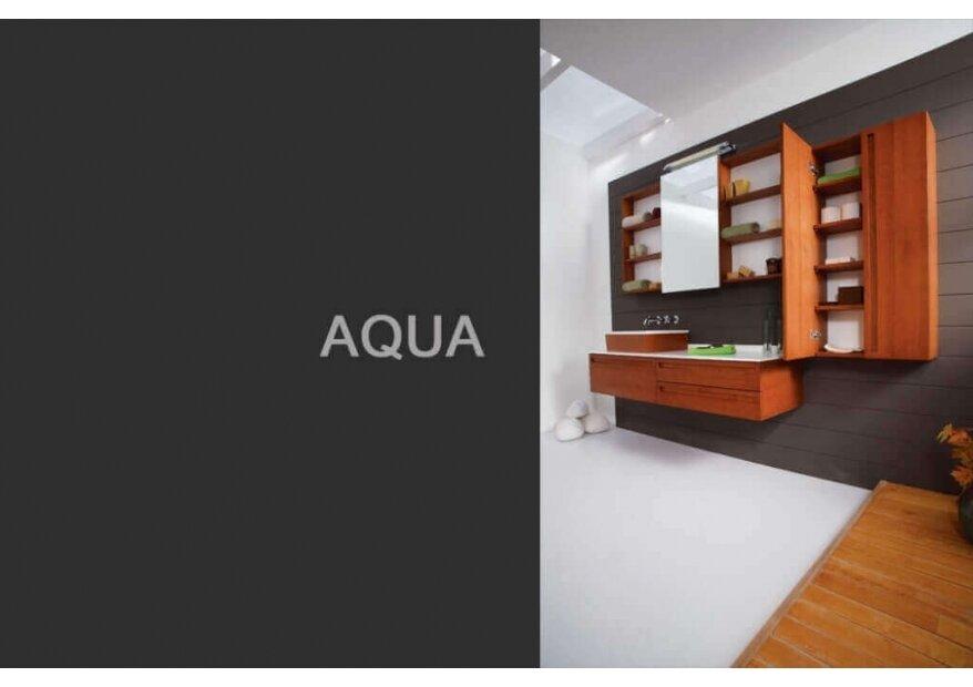 ארון אמבטיה Aqua