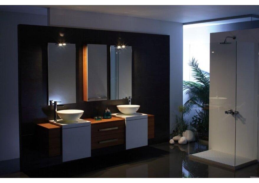 ארון אמבטיה ELIT מעוצב בשילוב קוריאן ועץ איכותי