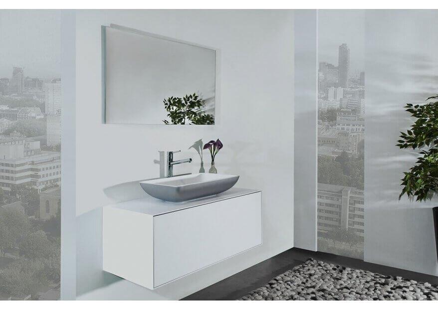 ארון אמבטיה Minimal עם כיור מונח