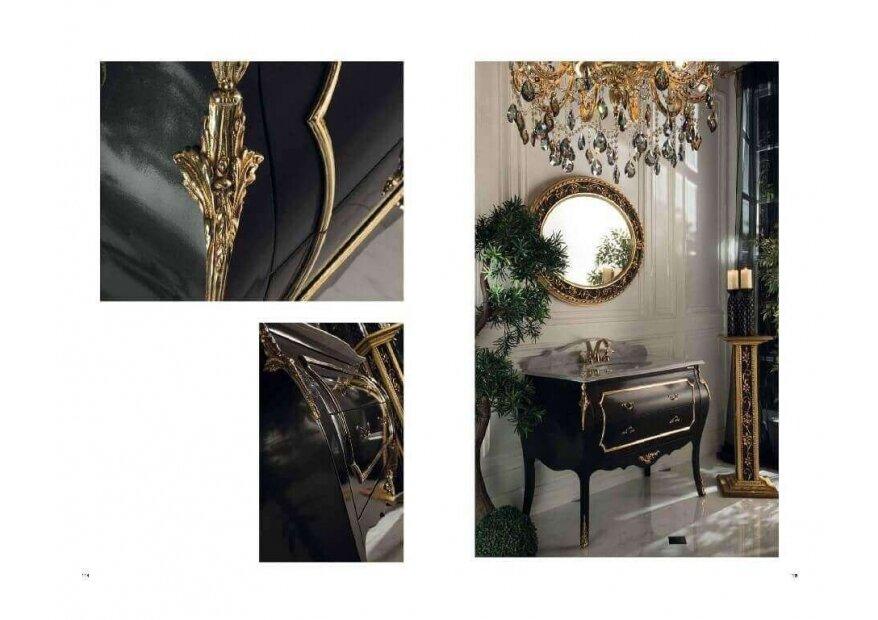 ארון אמבט יוקרתי דגם Perla Nera מסדרת Classic