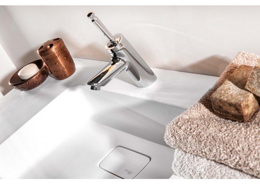 ארון לאמבטיה לבן דגם ACQUA FLAT