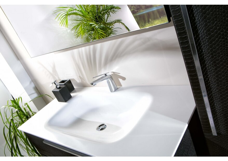 ארון לאמבטיה לבן ACQUA FLAT