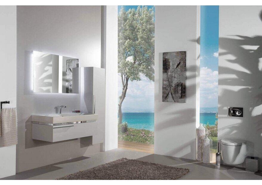 ארונות אמבטיה יוקרתיים מודרנו - opaco white 2