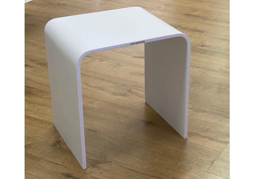 ספסל 40 אקרילום לבן