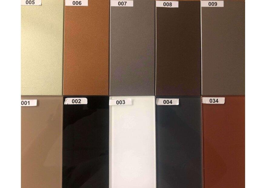פלטת צבעים דגם ACQUA FLAT GLASS