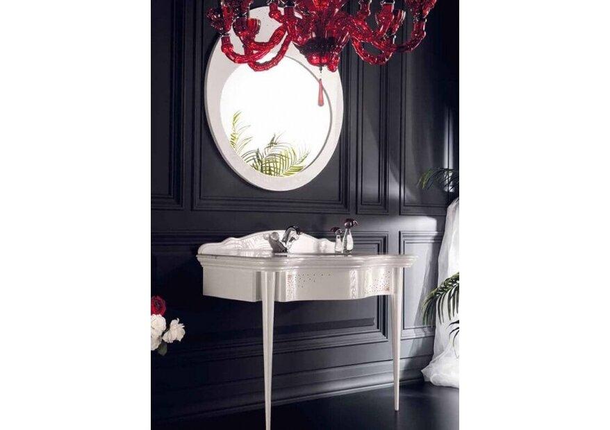 ריהוט אמבטיה אלגנטי שחור