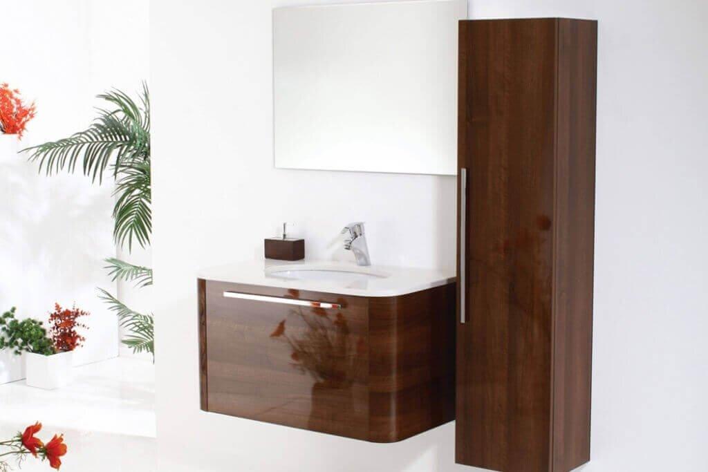 ארון אמבטיה מעוצב לפי מידה
