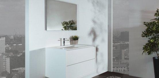 ארון-אמבטיה-Cubic-White
