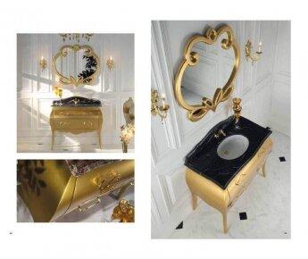 ארון אמבטיה זהב Cuore D'oro