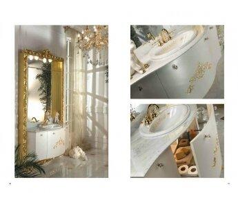 ארון אמבטיה יוקרתי דגם Golden palace