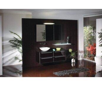 ארון אמבטיה מזכוכית BIANCO