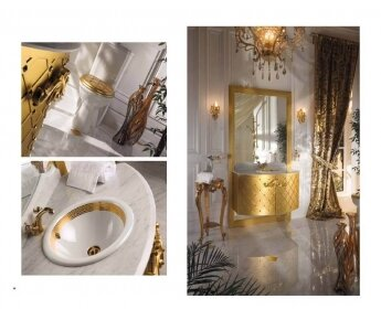 ארון אמבטיה מעוצב ויוקרתי דגם Queen
