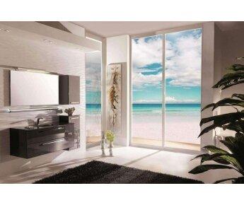 ארון אמבטיה משודרג acqua flat