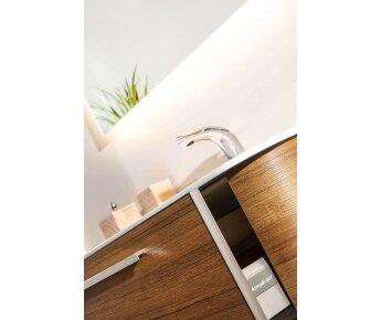 ארון אמבטיה עץ אגוז ACQUA RADIUS