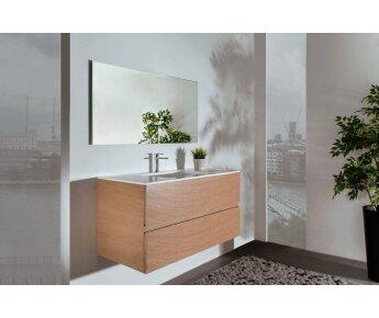ארון אמבטיה עץ אלון Angel