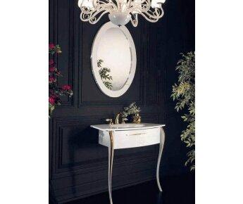 ארון אמבטיה שחור דגם יוקרתי