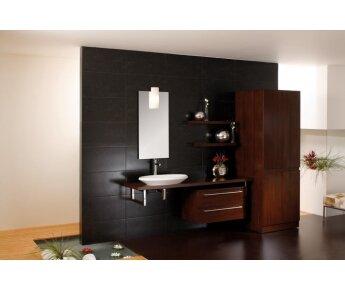 ארון אמבטיה שילוב של זכוכית Elegant