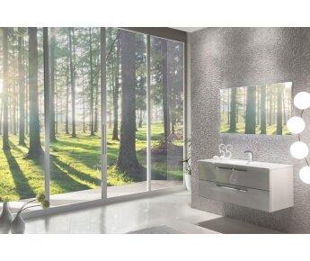 ארון אמבטיה תלוי ACQUA FLAT GLASS