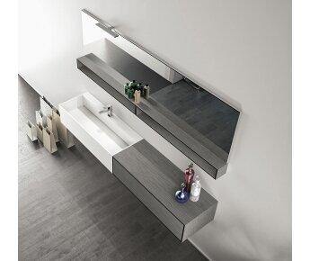 ארון אמבטיה 200 סמ  CUBIK 06