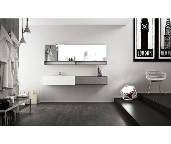 ארון אמבטיה 200  CUBIK 06