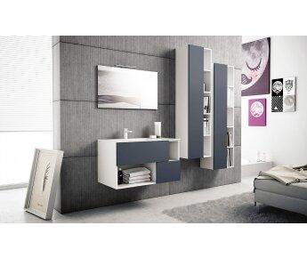 ארון אמבטיה 90 סמ דגם 03