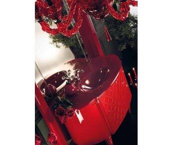 ארון אמבטיה avantgarde - carmern אדום