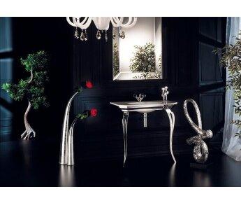 ארון אמבטיה elegante כסף