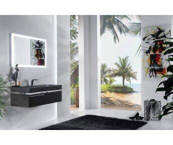 ארונות אמבטיה יוקרתיים מודרנו - opaco dark 1