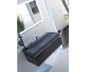 ארונות אמבטיה יוקרתיים מודרנו - opaco dark