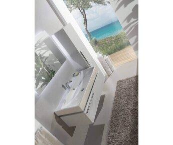 ארונות אמבטיה יוקרתיים מודרנו - opaco white