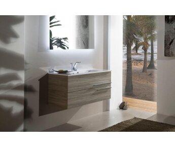 ארונות לאמבטיה מודרנו - דגם CARO golden