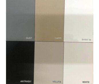 דגמי צבעים ארון אמבטיה OPACO