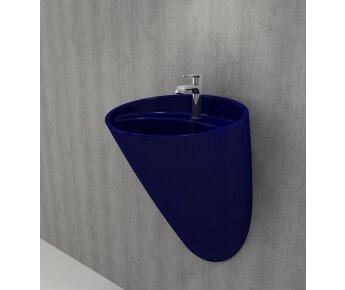 1083 - 010 כיור כחול מבריק