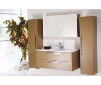 ארון אמבטיה Aqua Cappuccino Color