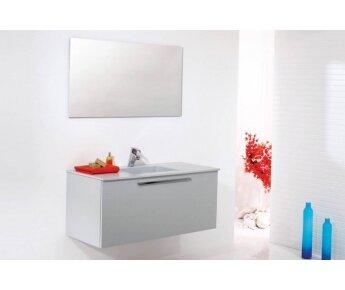ארון אמבטיה Aqua Gray Color