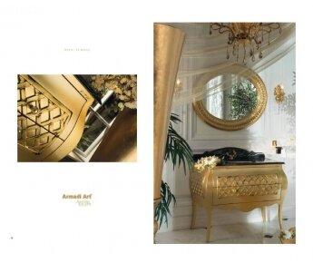 ארון אמבטיה צבע זהב