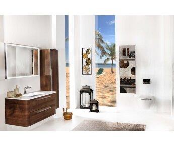ACQUA RADIUS ארון אמבטיה דגם