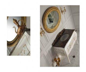 Allegro ארון אמבטיה בסגנון קלאסי